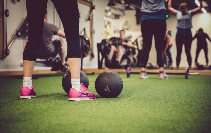 exercise class hiit and core